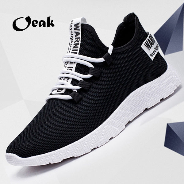 Men Light and Comfortable Breathable  Mesh Walking Sneakers - ibspot