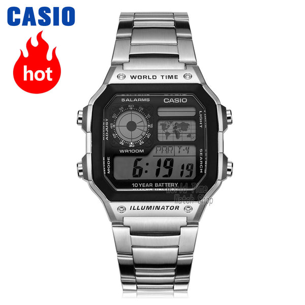 Casio Explosion LED military and Sport digital watch for men - ibspot