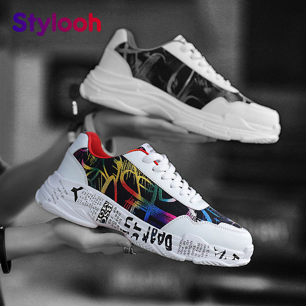 Unisex Casual Fashion Sneakers for Outdoor and Gym Shoes unisex Men's Casual - ibspot