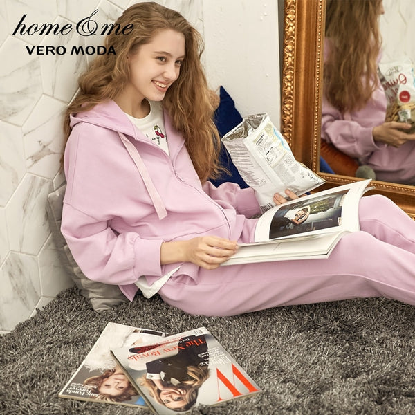 [Vero Moda] Hooded Comfortable Pajamas Set & Homewear - ibspot