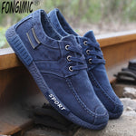 Men Breathable Flat Canvas Shoes with Cloth Old Beijing Design for Summer and Fall - ibspot