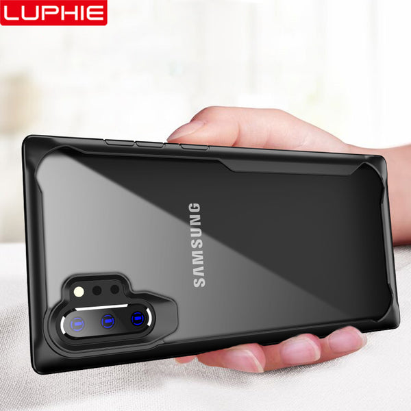 LUPHIE Shockproof Armor Business Case for Samsung Galaxy Note 10 + plus - ibspot