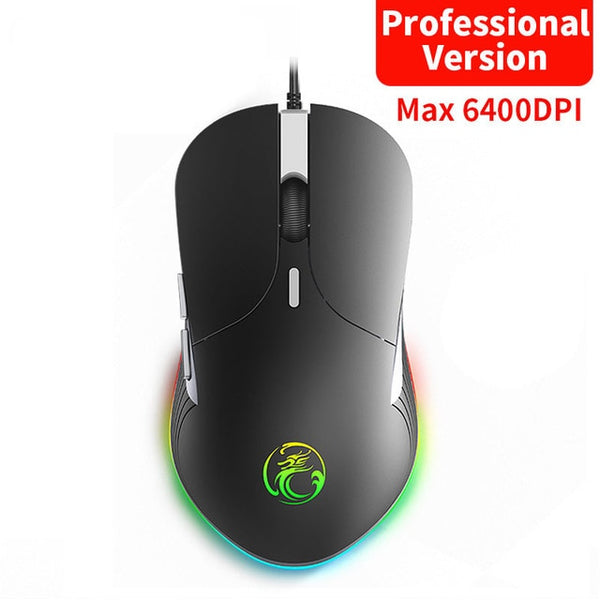 Professional Wired Ergonomic Gaming Mouse 6400DPI