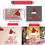 Christmas Stickers for Window, Wall and Home Decor - ibspot