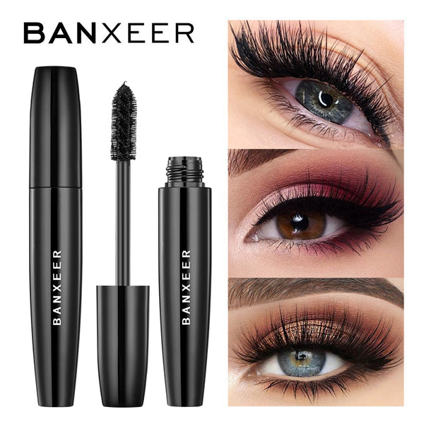 4D Silk Fiber Lash Fluffy Volume Waterproof Mascara