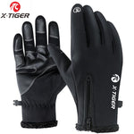 X-TIGER Touch Screen Winter Thermal Wind/Waterproof Bike Gloves - ibspot
