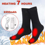 Electric Heating Cotton Foot Warmer Socks
