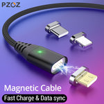 PZOZ USB Magnetic Cable Micro usb Type C Fast Charging ( 1M, 2M )