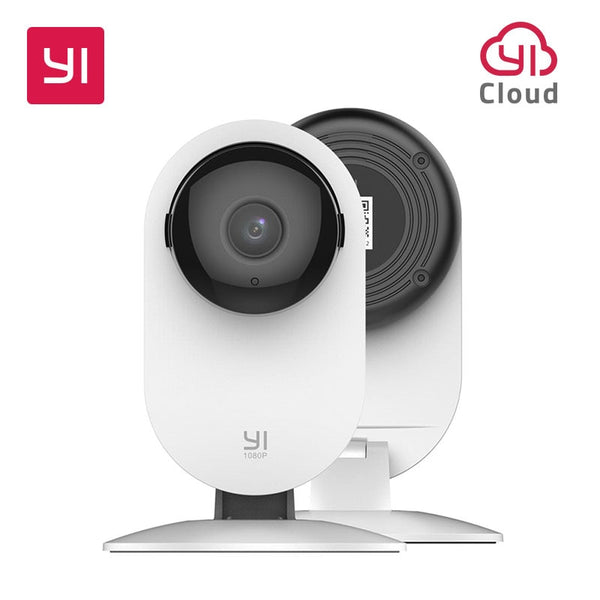 YI 1080p Home Surveillance Camera Indoor IP with Night Vision for Home/Office/Baby/Nanny/Pet Monitor