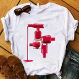 Women's 3D Graphics Fashion Printed T-Shirt