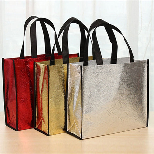 Women's Laser Fabric Reusable Shopping Bag