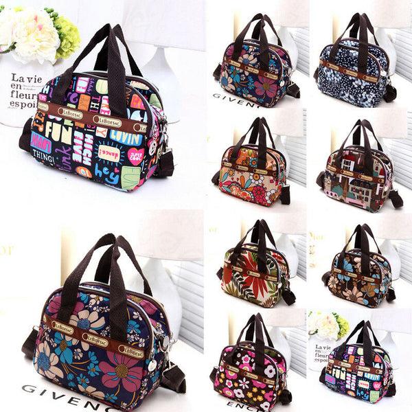 Women's Fashion Waterproof Zipper Shoulder Bag & Travel Tote