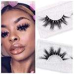 3D Long Lasting Soft Dramatic High Volume Mink Eyelashes