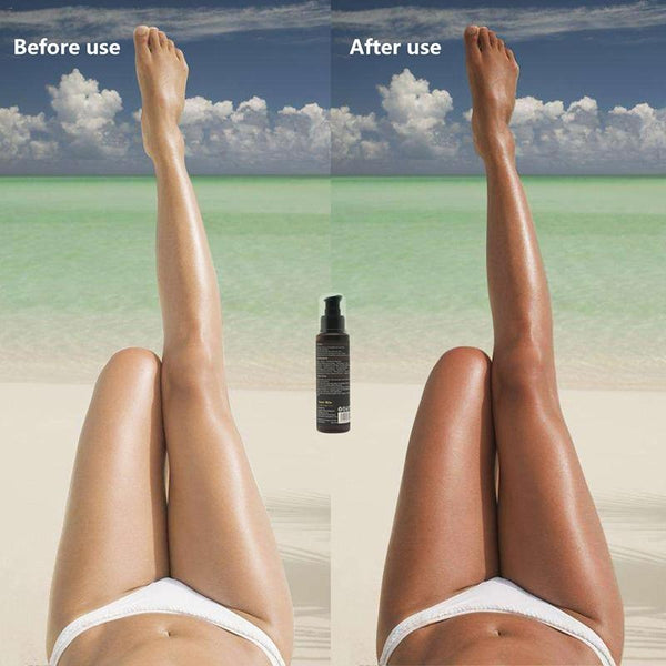 Long Lasting Sunless Tanning Self Tan Organic, Natural  Tan Mousse  Long Lasting Fake Tan