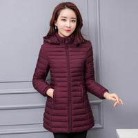 Winter Jacket Women 2018 Winter And Autumn Wear High Quality Parkas Winter Jackets Outwear Women Long Coats Plus Size - ibspot