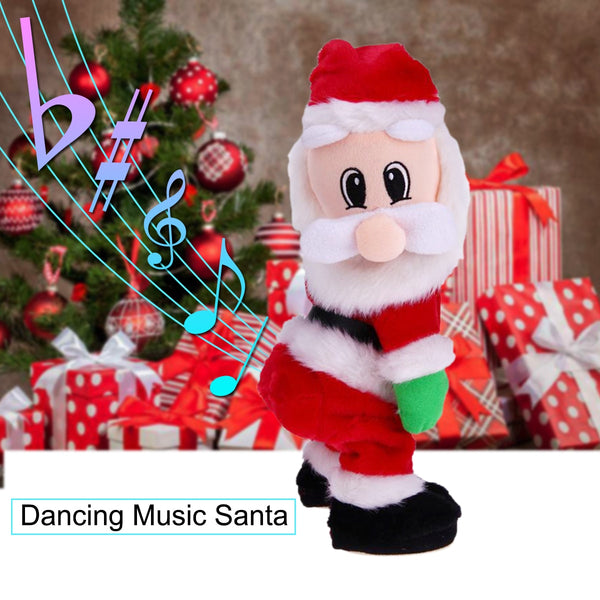 Dancing Musical Santa Claus Doll for Christmas Decoration and Gift - ibspot