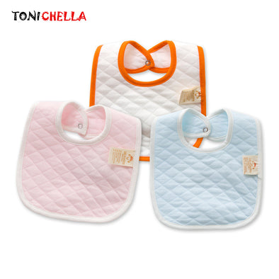Double Layer Thicken Cotton Bibs for newborn Infant Saliva Towels - ibspot