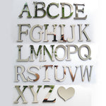 New Acrylic Mirror 3D DIY wall stickers stickers English letters home decoration  creative personality Special - ibspot
