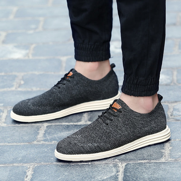 Vintage Oxfords Wedding Breathable Men Casual Shoes - ibspot