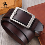 Men High Quality Cow Genuine Leather Classic Belt - ibspot