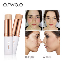 O.TWO.O 2018 New Magical Concealer Stick Foundation Makeup Full Cover Face Concealer Base Primer Moisturizer Hide Blemish Hot - ibspot