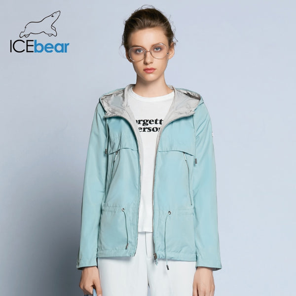 ICEbear 2019 new spring women trench coat woman high-quality overcoat casual windbreaker brand women's autumn overcoat GWF18022D - ibspot