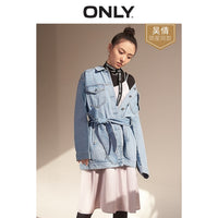 ONLY 2019 Women's Loose Fit Casual Denim Jacket |119154529 - ibspot