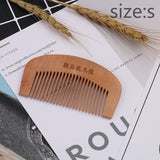 High Quality 1Pcs  Massage Wooden Comb Bamboo Hair Vent Brush Brushes Hair Care and Beautiful SPA Massager Wholesale - ibspot