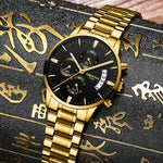 Men Waterproof Casual Luxury  Business watch