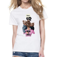 Women T-Shirt Mama and Kids Happy Time - ibspot