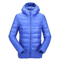 Winter Woman Padded Warm Coat Ladies Ultra Light Duck Down Padded Coat Female Short Slim Solid Portable Overcoat 2019 New