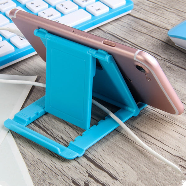 Plastic Folding Desk Phone Holder Stand