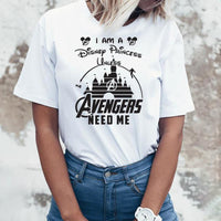 Marvel Avengers Endgame T Shirt Women Heroes Superheroes Marvel Comics Captain America Thanos Vacation T-shirt