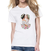 Women Mommy's Love T-shirt Super Mama Print Cotton - ibspot