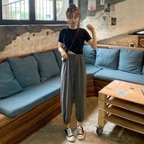 Two piece set tracksuit women summer clothes for women conjuntos de mujer women two piece outfit casual Korean 2 piece set women - ibspot