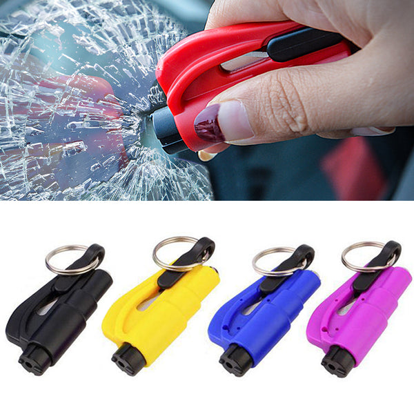 Life-saving Mini Key chain Safety Escape Hammer to break the window - ibspot