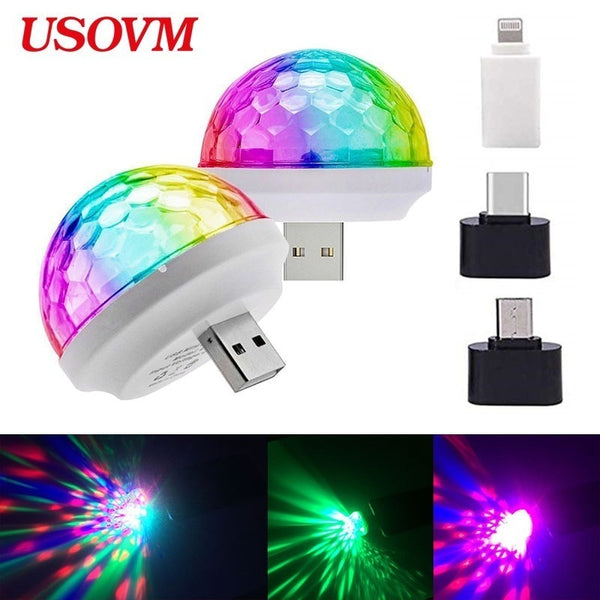 USB Mini Mushroom Light - ibspot