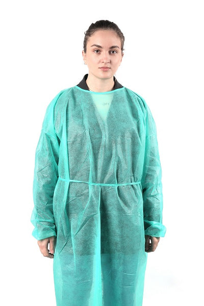 AAMI Level 2 Isolation Gowns - Pack of 10 - Large Size