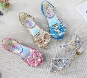 Girls' Cinderella/Princess Crystal Formal Shoes