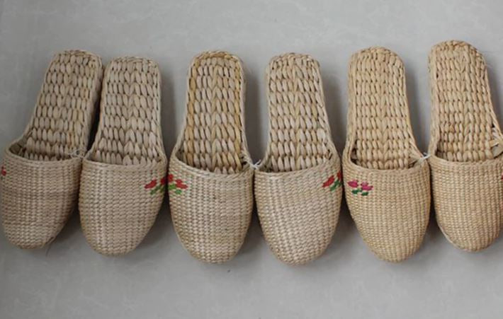 Hemp Hand Woven Slippers for Women