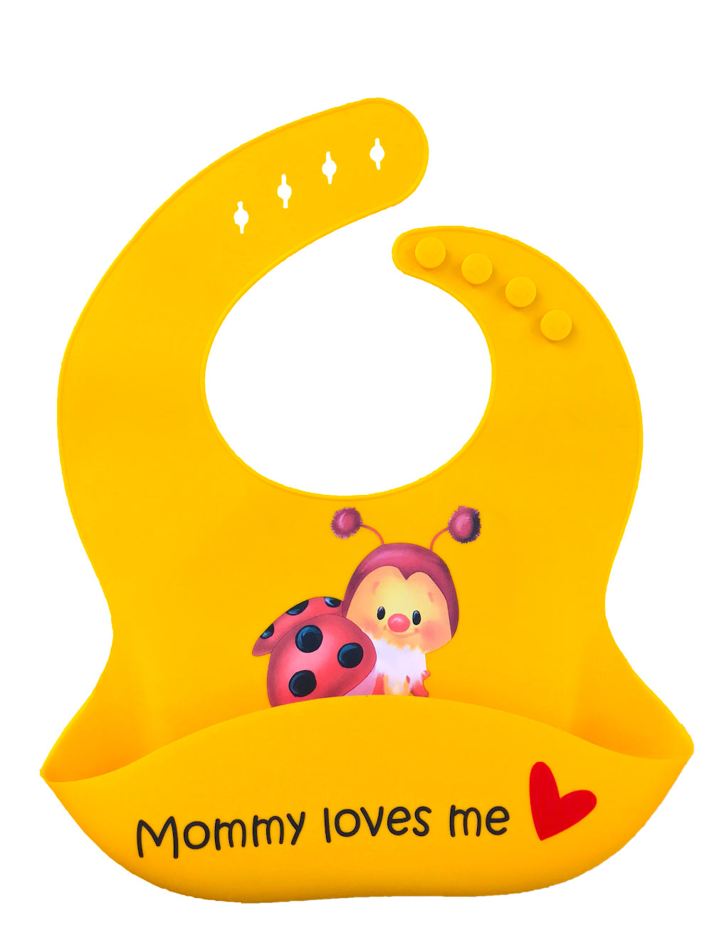 Premium Silicone Baby Bibs with Latest Nano Hybrid Technology - Baby BUG