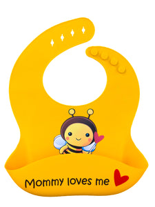 Premium Silicone Baby Bibs with Latest Nano Hybrid Technology - BABY BEE