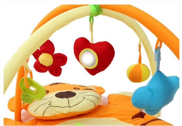 Baby Gym Tiger Play Mat for Crawling Babies