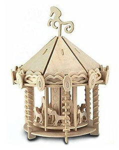 Classic Baby Nursery Wooden Carousel Kit