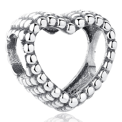 925 Sterling Silver Bracelet Charms/Beads in Beautiful Designs