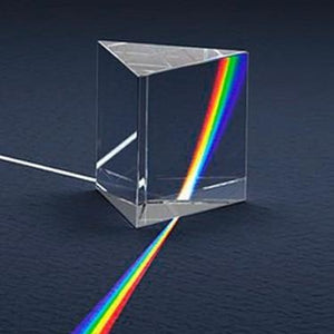Kids Physics Science Toys/Prism Glass for Light Spectrum Experiments