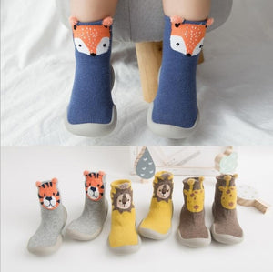 Colorful Toddler Slippers, Home Shoes with Cute Characters