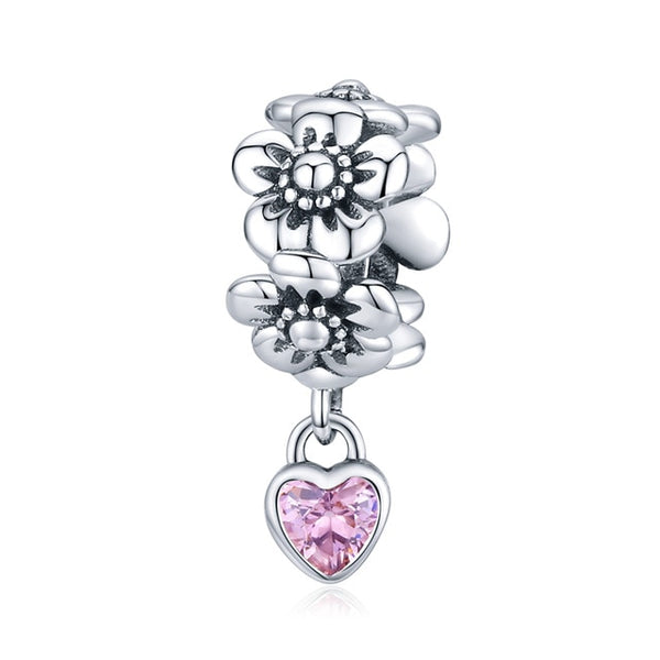 925 Sterling Silver/CZ Charms for Bracelets and Necklaces