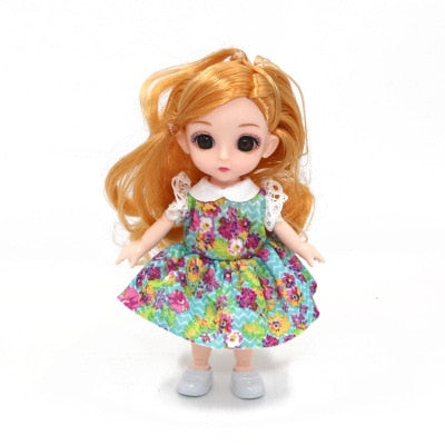 Cute Baby Doll in Fashion Outfits & Movable Joints
