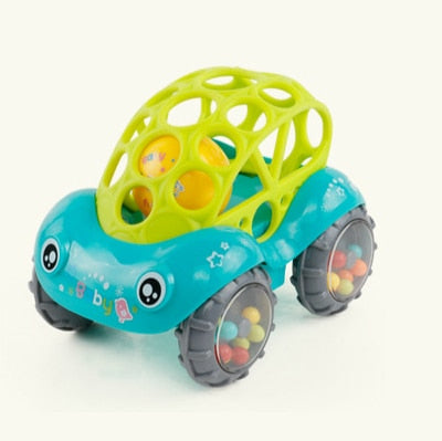 Car Toy/Rattle Car with Bell and Sound in 2 Colors